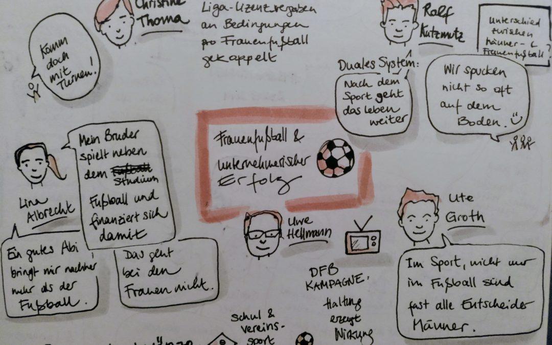Kooperatives Battle statt Quick Wins:  Frauenbilder im Fußball und deren Potential für Unternehmen